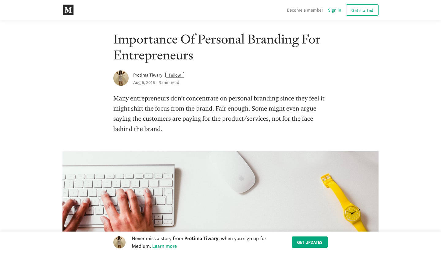 To be (known) or not to be – Personal Branding for Social